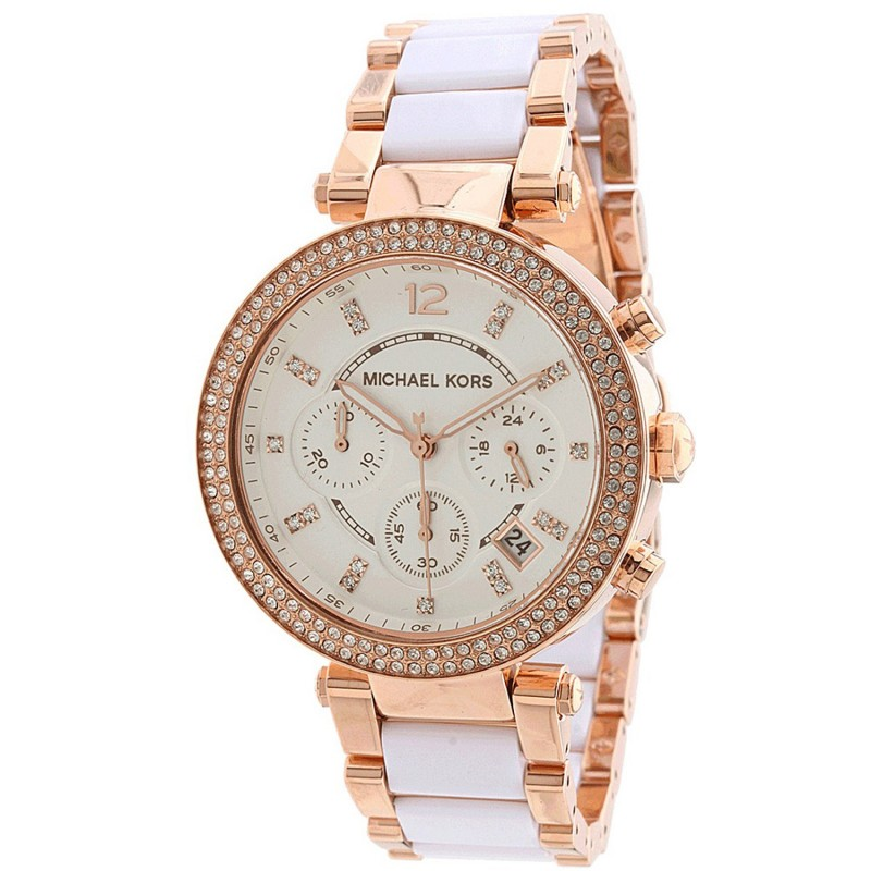 Michael Kors Ladies Parker Chronograph Watch MK5774