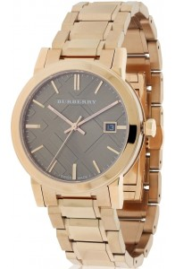 Burberry The City Rose Gold Diamond Women's Watch BU9126