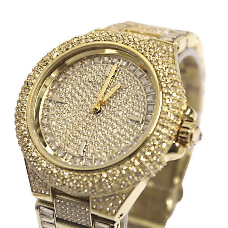 Michael Kors Women's MK5720 'Camille' Crystal-encrusted Watch