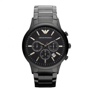 Armani Men's AR2453 Classic Black Stainless Steel Watch
