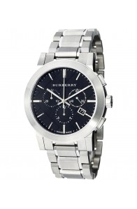 Burberry BU9351 Women's 'Large Check' Black Dial Stainless Steel Watch