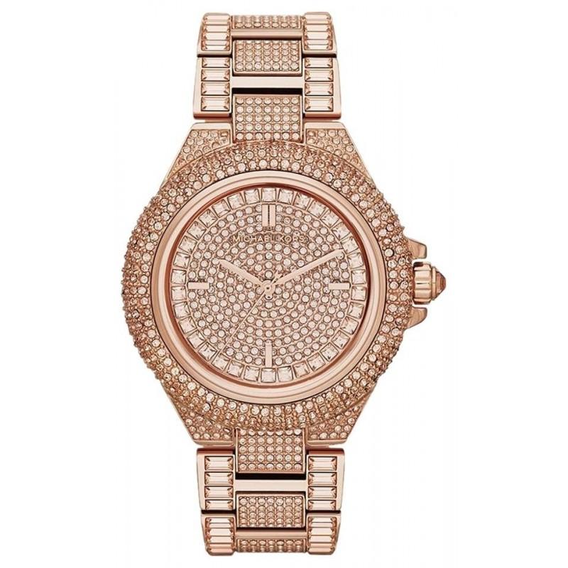 0c76b93090b1 Michael Kors Women s MK5862  Camille  Rose Gold Glitz Watch
