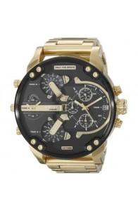 Diesel Men's DZ7333 Mr. Daddy 2.0' Chronograph 4 Time Zones Gold-Tone Watch